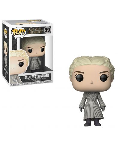 Фигура Funko Pop! Television: Game of Thrones - Daenerys in White Coat, #59 - 2