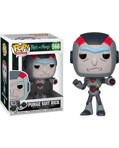 Фигура Funko Pop! Animation: Rick and Morty - Purge Suit Rick, #566 - 2