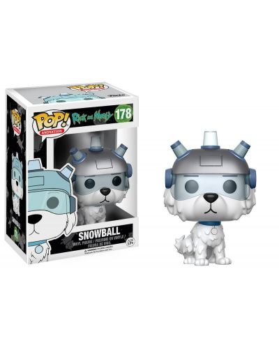 Фигура Funko Pop! Animation: Rick and Morty - Snowball, #178 - 2