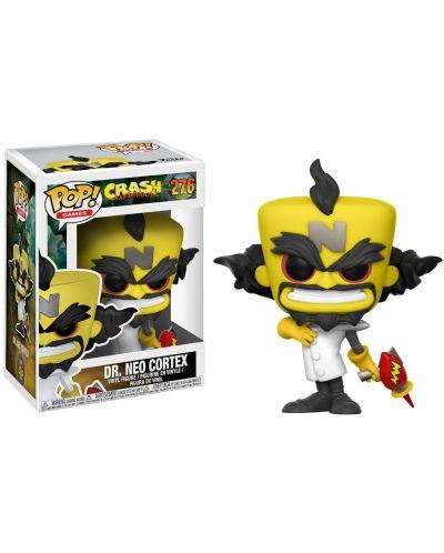 Фигура Funko Pop! Games: Crash Bandicoot - Dr. Neo Cortex, #276 - 2