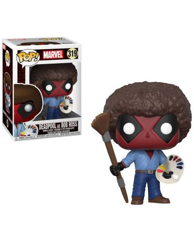 Фигура Funko Pop! Marvel: Deadpool Bob Ross, #319 - 2