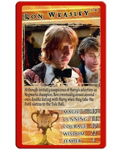 Игра с карти Top Trumps - Harry Potter and the Goblet of Fire  - 2