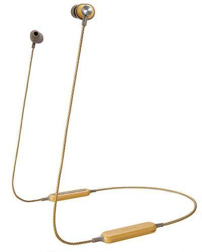 Спортни слушалки Panasonic HTX20B - жълти - 1