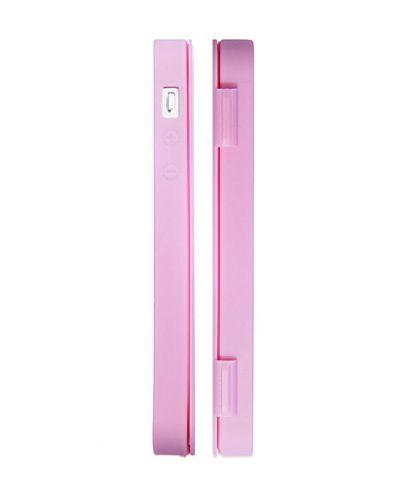 FitCase TPU Flip Case  силиконов кейс тип портфейл за iPhone 5 (розов) - 2