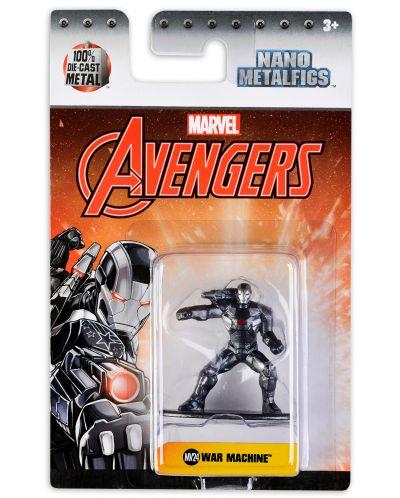 Фигура Metals Die Cast Marvel Avengers - War Machine - 1