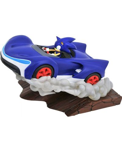 Фигура Diamond Select Sonic Racers Gallery - Sonic, 25 cm - 1