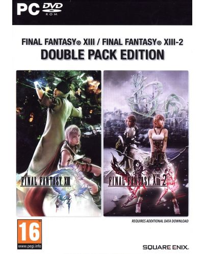 Final Fantasy XIII & XIII-2 Double Pack (PC) - 1