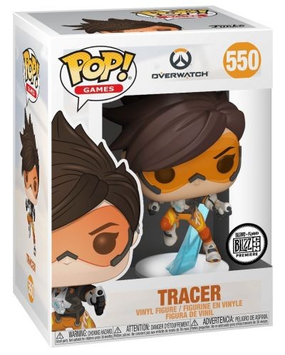 Фигура Funko Pop! Games: Overwatch - Tracer, #550 - 2