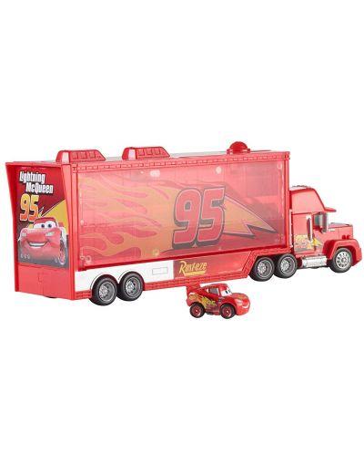 Игрален комплект Mattel Cars - Камион Транспортьор Мак - 1