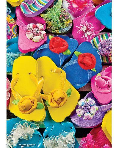Пъзел Master Pieces от 1000 мини части - Джапанки, Карол Гордън - 1