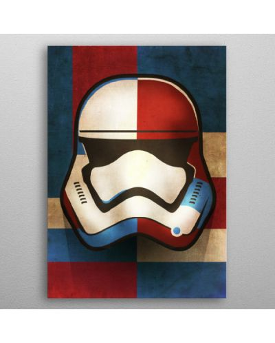 Метален постер Displate - First Order Shapes - 3