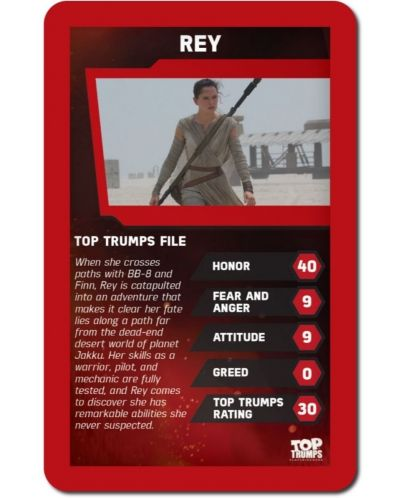 Игра с карти Top Trumps - Star Wars The Force Awakens - 4