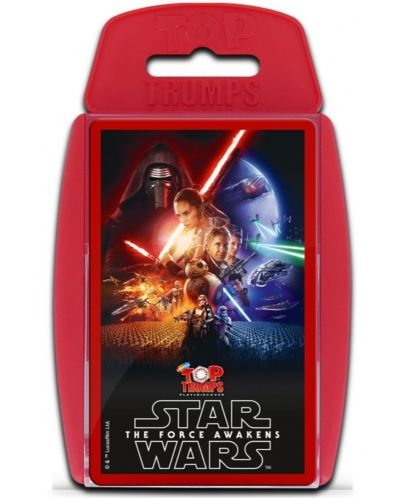Игра с карти Top Trumps - Star Wars The Force Awakens - 1