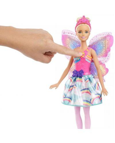 Кукла Mattel Barbie Dreamtopia - Фея, с летящи криле - 6