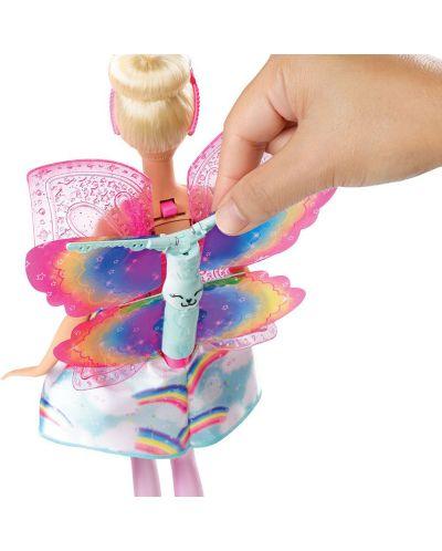Кукла Mattel Barbie Dreamtopia - Фея, с летящи криле - 4