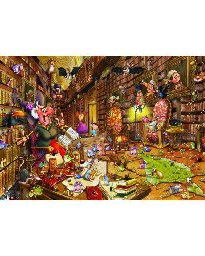 Пъзел Grafika от 1500 части - Вещицата, Франсоа Руйър - 1