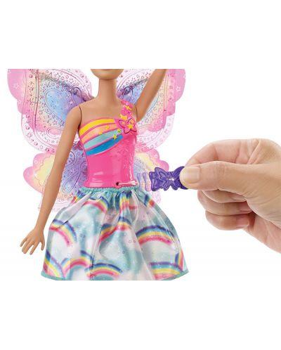 Кукла Mattel Barbie Dreamtopia - Фея, с летящи криле - 7
