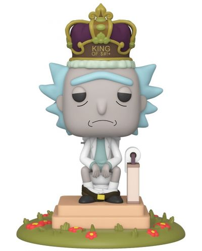 Фигура Funko Pop! Animation: Rick & Morty - King of $#!+ with Sound, #694 - 1
