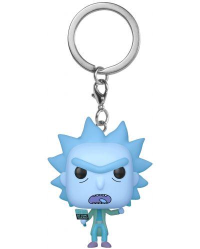 Ключодържател Funko Pocket Pop! Rick & Morty - Hologram Rick Clone - 1