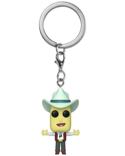 Ключодържател Funko Pocket Pop! Rick & Morty - Mr. Poopy Butthole (Auctioneer) - 1
