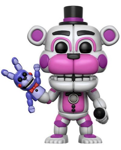 Фигура Funko Pop! Five Nights at Freddy's - Funtime Freddy, #225 - 1