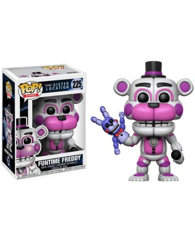 Фигура Funko Pop! Five Nights at Freddy's - Funtime Freddy, #225 - 2