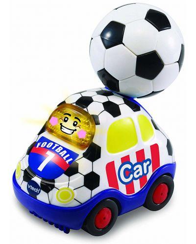 Детска играчка Vtech - Футболна кола, със светлина и звук - 1