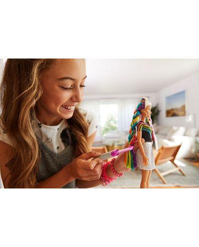 Игрален комплект Mattel Barbie - Прическа Дъга - 15