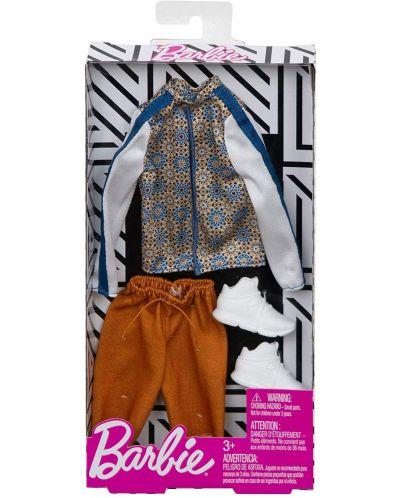 Дрехи за кукла Mattel Barbie - Яке с къси панталони и кецове, за Кен - 2