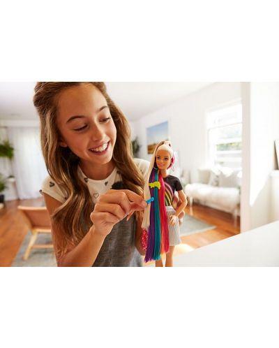 Игрален комплект Mattel Barbie - Прическа Дъга - 16