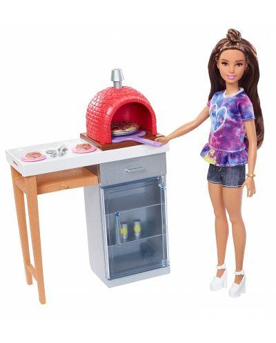 Игрален комплект Mattel Barbie - Барбекю - 3