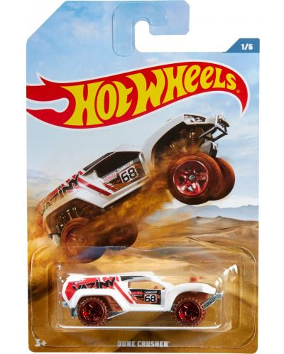 Количка Mattel Hot Wheels - Dune Crusher - 1