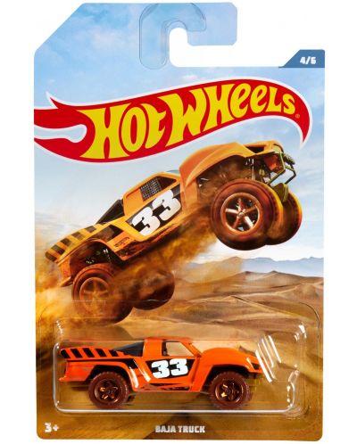 Количка Mattel Hot Wheels - Baja Truck - 1