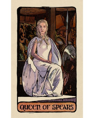 Game of Thrones: Tarot Cards (Deck and Guidebook) - 8