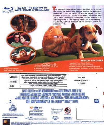 Гарфилд (Blu-Ray) - 3