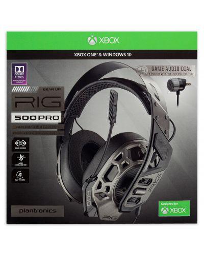 Гейминг слушалки Plantronics - RIG 500 PRO HX Special Edition, черни - 6