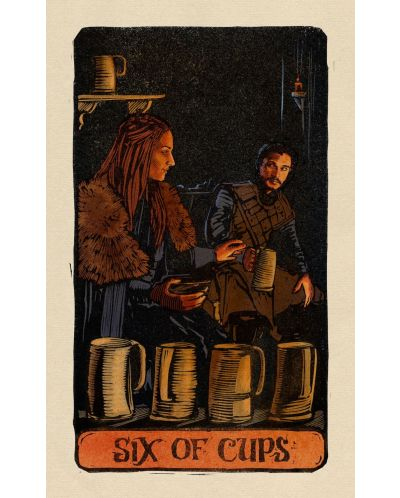 Game of Thrones: Tarot Cards (Deck and Guidebook) - 17