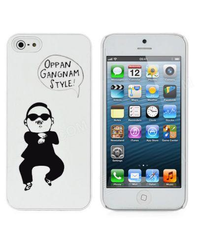 Gangnam Style за iPhone 5 -  бял - 1