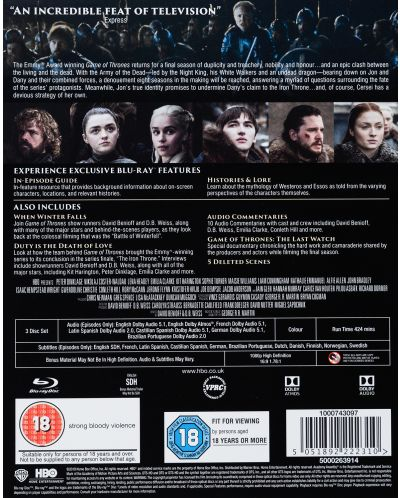 Game of Thrones: Complete Season 8 (Blu-Ray) - 4