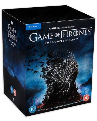 Game of Thrones: The Complete Series 2019 (Blu-Ray Box Set) - 2