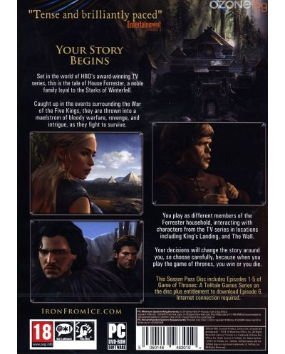 Game of Thrones - Season 1 (PC) - 4