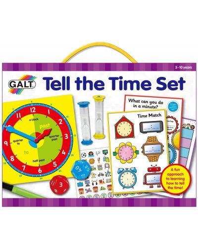 Детска игра Galt - Колко е часа? - 1