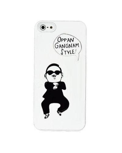 Gangnam Style за iPhone 5 -  бял - 2