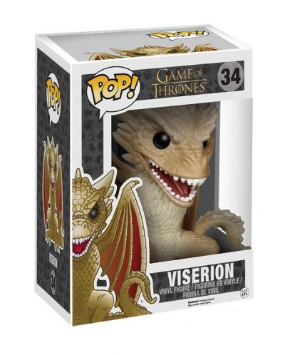 Фигура Funko Pop! Televison: Game of Thrones - Viserion, #34 (Super-Sized) - 2