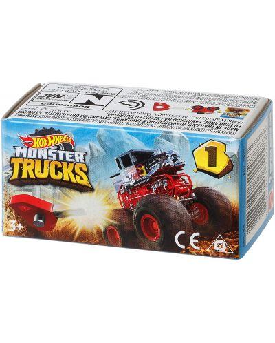 Количка-изненада Hot Wheels Monster Trucks -  Мини бъги - 1