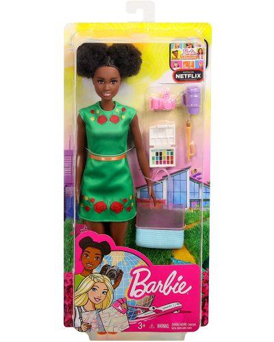 Кукла Mattlel Barbie - Nikky, с аксесоари - 1