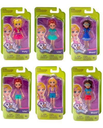 Кукла Mattel Polly Pocket - Go Tiny, асортимент - 1