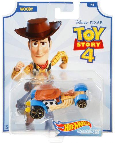 Количка Hot Wheels Toy Story 4 - Woody - 1