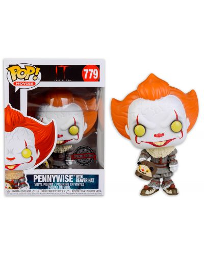 Фигура Funko Pop! Movies: IT: Chapter 2 - Pennywise with Beaver Hat Special, #779 - 2