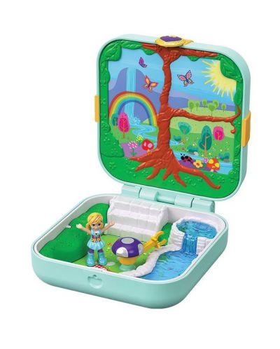 Игрален комплект Mattel Polly Pocket - Скрито съкровище, асортимент - 7